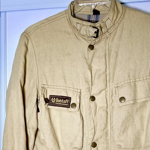 d547753e290 Belstaff Jackets & Coats | Rallymaster 350 Linen Jacket M | Poshmark